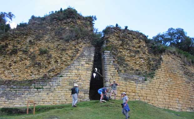 Kuelap fortress entrance
