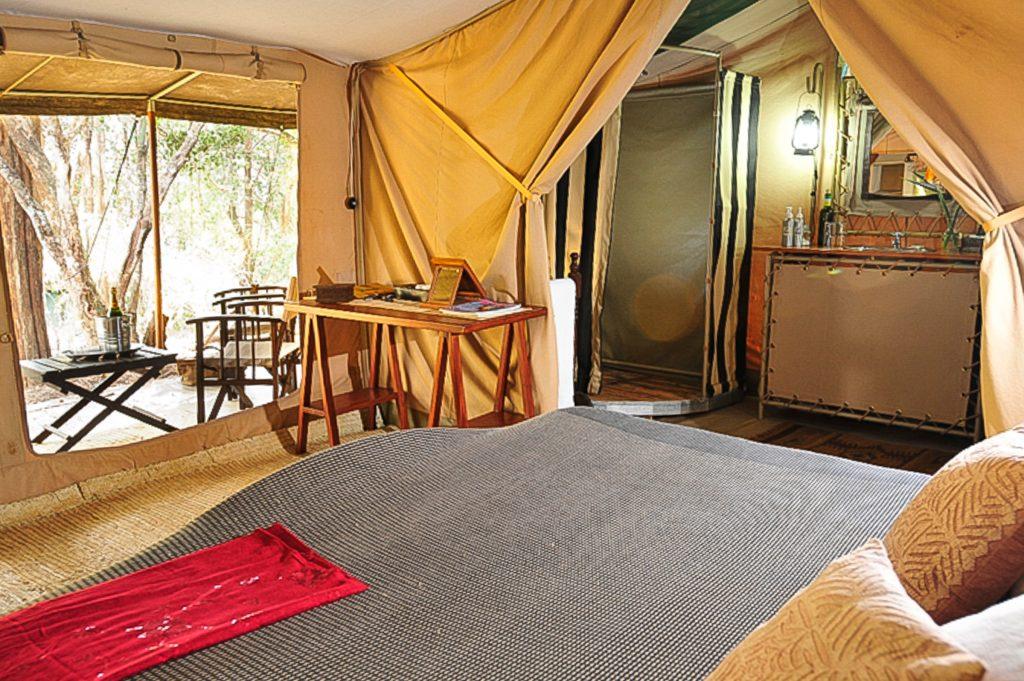Room at Nairobi Tented Camp, Kenya