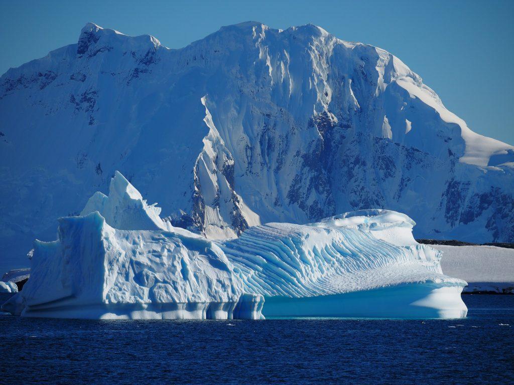 Icebergs, Gerlache Strait, Antarctica