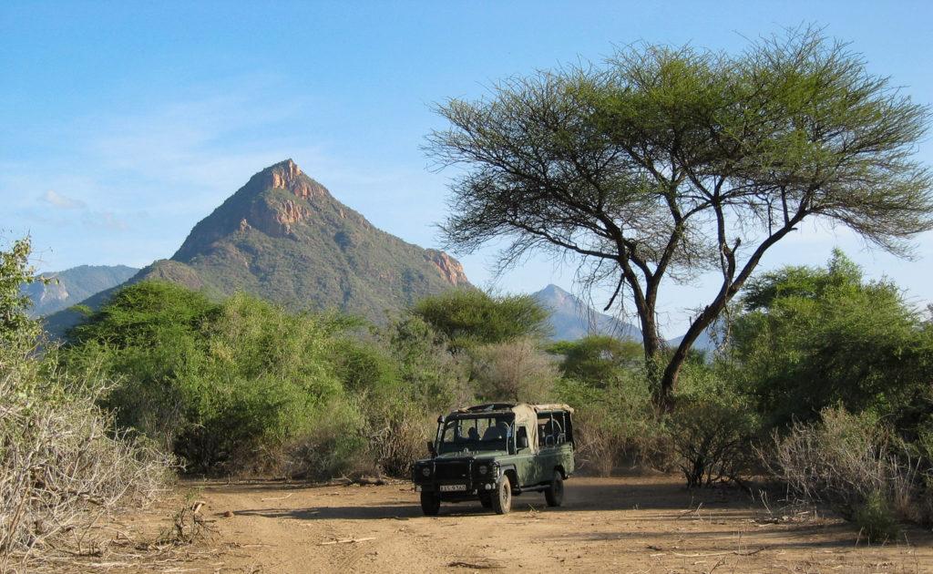 Safari in the Mathews Range from Namunyak Wildlife Conservancy, northern Kenya