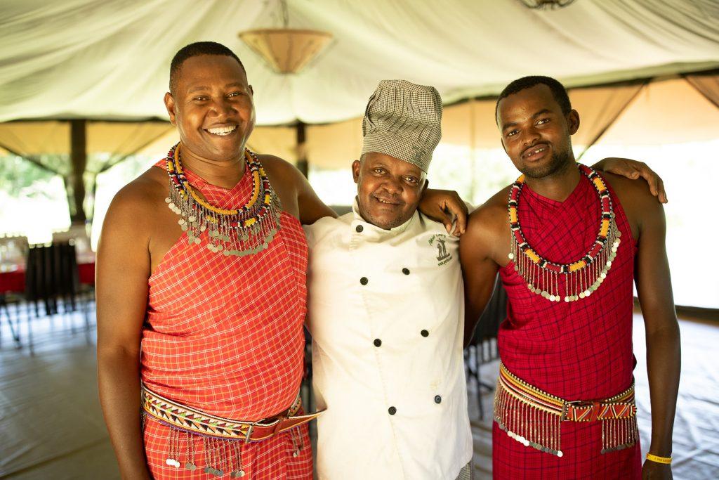 Porini Lion Camp staff, Olare Motorogi, Masai Mara, Kenya